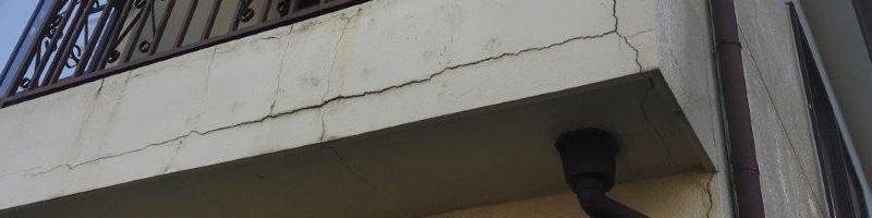 ベランダ雨漏り修繕工事