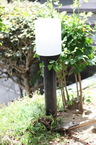 施行前_庭園灯