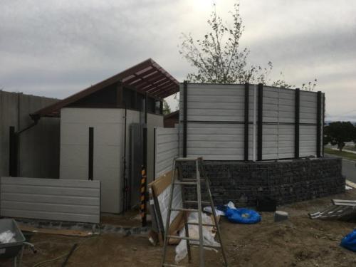 アクアマリンふくしま タヌキ・アナグマ予備飼育室新築工事