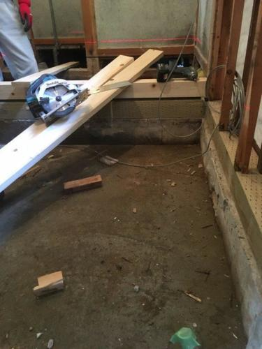 木材部分修理